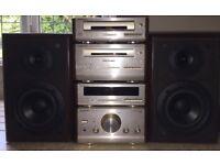 TECHNICS HIFI CD SYSTEM SEPERATES RADIO AMP SPEAKERS SE-HD51