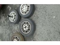 Ford focus alloy wheels 15