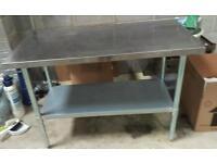 Commercial kitchen worktop