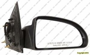 Door Mirror Power Passenger Side Coupe PONTIAC PURSUIT 2005-2010