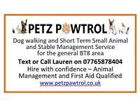 Petz Pawtrol - Dog Walker & Pet Management Services Carryduff