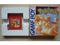 Pokemon red version - Nintendo Game Boy Game (GB) *BOXED & GENUINE*