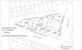 Land for sale with full planning for 5 houses in BD5 in Bradford