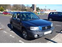 Subaru Forester 2.0X with extras