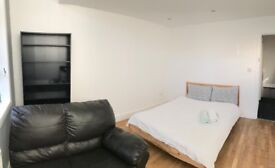 Huge Room with sofa in a friendly Sharing flat
