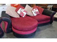 Dfs fabric corner sofa Can deliver