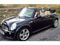 Mini Cooper S convertible petrol £3250