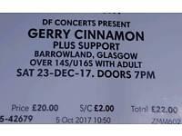 Gerry Cinnamon - Barrowlands - 23/12/17