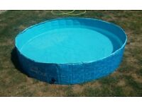 5ft Paddling Splash Pool - 'All For Paws Chill Out'