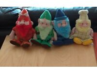 All Four MetroGnomes from the MetroCentre