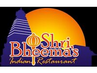 Restaurant manager at Indian restauarant