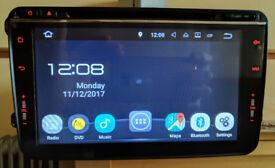 "8"" VW/Seat/Skoda Android Touchscreen Car Stereo/Radio/GPS/Sat Nav/Bluetooth/DVD/SD Card + CANBus Box"