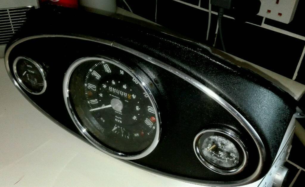 Complete Smith U0026 39 S Classic Mini Binnacle Speedometer  Oil