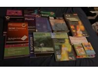 GCSE , Biology, Chemistry, physics books . £ 8 for all. In good condition .