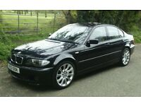 Bmw n42 318 2.0 petrol sapphire black e46 3 series 2004 all spare genuine used parts breaking