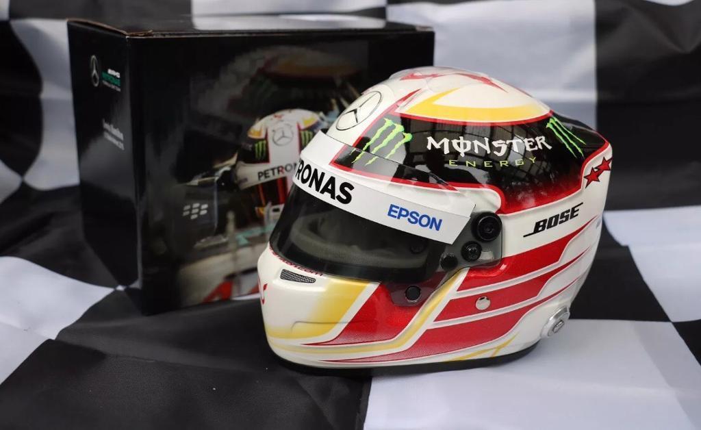Lewis Hamilton 2015 1:2 Scale helmet Mercedes AMG F1 replica