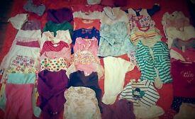 Baby girls bundle 6-9 .
