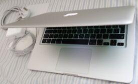 Apple Macbook PRO 13 inch, 2. 5Ghz i5 CPU, 8GB Ram, 500GB HD - Mint Condition