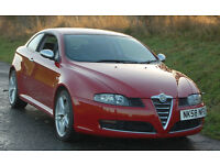 Alfa Romeo GT 2.0 JTS Cloverleaf, 2008 (58), 57000 miles