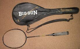 Badminton Racquet, Browning Big Gun