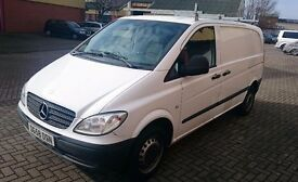 Clean Mercedes Vito 2.1 CDI Compact Panel Van, Dual Slider (2009) - FRESH 12 MONTH MOT - (NO VAT)