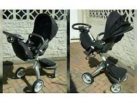 Stokke xplory with seat/ carrycot.. loads of extras!!
