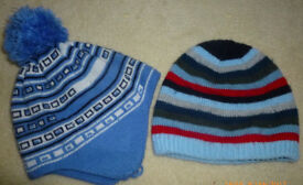 2 hats, size 12 - 24 months