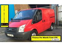 Ford Transit 2.2 260 SWB, 1 Owner From New, Full Service History, 1YR MOT,Warranty, Rear Sensors,89k