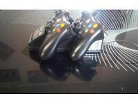 2 Xbox 360 wireless controller
