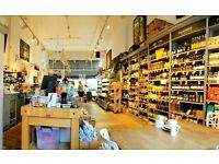 ASSISTANT MANAGER & EXPERIENCED BARISTAS NEEDED FOR COFFEESHOP/DELI IN BELSIZE PARK