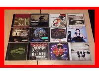 12 x Rock Music CD's - Stereophonics, U2, Nirvana, The Cure, Linkin Park, and more!