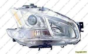 Head Lamp Passenger Side Xenon Exclude Sport Package High Quality Nissan MAXIMA 2011-2013