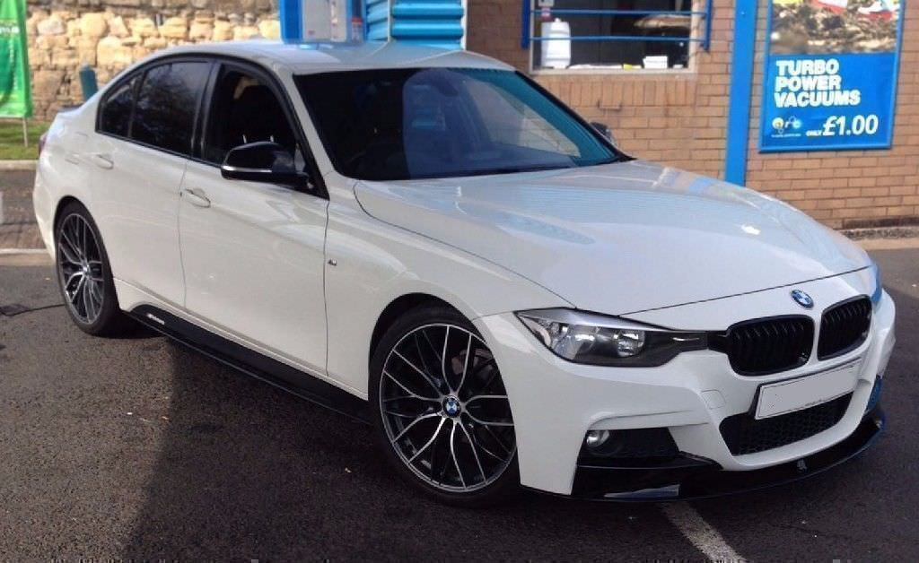 ★ALPINE WHITE★ BMW 318D M SPORT BUSSINESS EDT - M PERFORMANCE PACK★ LEATHER ★ WARRANTY ★ HUGE SPEC