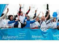 Event volunteer at the Great South Run