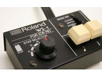 ☆ ULTRA RARE Vintage ROLAND WS-1 Programmer for CR-78 Analogue Drum Machine! ☆