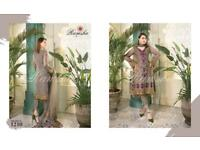 Pakistani RAMSHA designer ladies suits unstitched
