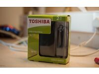 TOSHIBA 2TB USB3.0 External Hard Drive