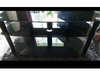 Glass TV Stand Unit FREE TO COLLECT