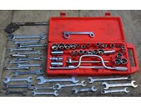 Joblot of Spanners and Part Socket Set (Metric and Imperial)