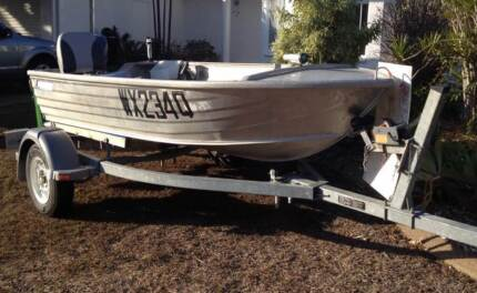 3.45m Allycraft aluminium Tinny & 15hp Yamaha outboard Annandale Townsville City Preview