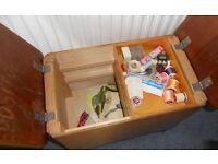 Vintage Sewing Box, Stool