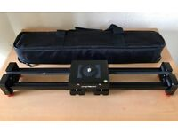 CACAGOO DOLLY VIDEO SLIDER + DSLR QZSD TRIPOD (BRAND NEW) *£140 ONO*