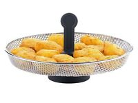 REDUCED ! OPEN TO OFFERS. TEFAL ACTIFRY Snacking Mesh Metal Tray Grid Basket for 1kg/1.2kg models.
