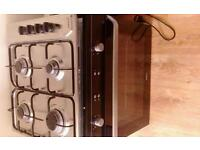 Electric oven and gas cooker