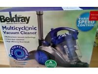 BELDRAY MULTICYCLONIC VACUUM CLEANER (USED ONCE)