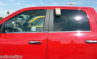 DODGE RAM 2500 3500 CREW CAB 2010 - 2017 TFP CHROME WINDOW SILL BELTLINE COVER