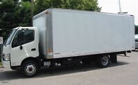 2013 Hino 195 Commercial diesel with 20 ft aluminum box
