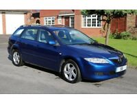 Mazda6 TS Estate, 2.0 Petrol, Manual, Pacific Blue