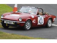 Triumph Spitfire - suitable for road or racing