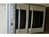 White gas cooker like new
